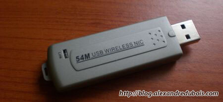 Mon challenge du jour : installer la clé wifi Omenex 591952