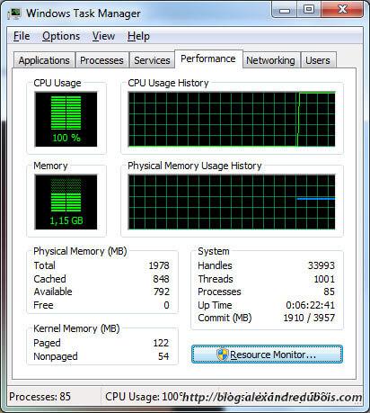 Le processeur peine et ne s'en sors pas pour afficher la vidéo HD