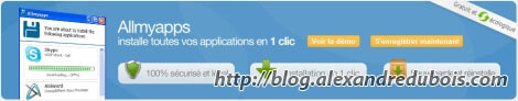 Allmyapss : Installez toutes vos applications en 1 clic