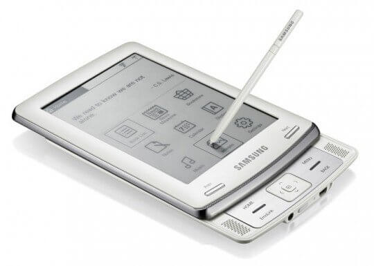 L'ebook reader Samsung E60