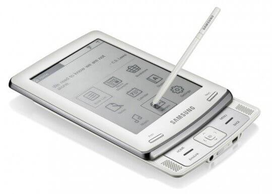 L'ebook reader Samsung E60