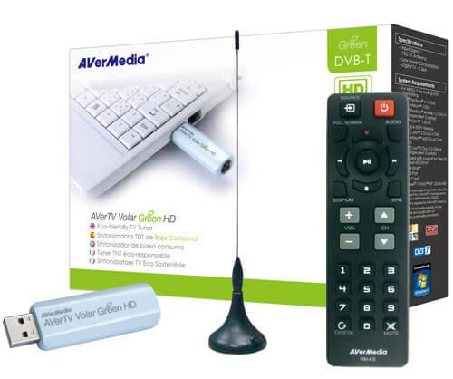 Clef USB avec tuner TNT capable de recevoir TV et radios en numérique sur PC